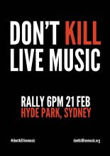 Dont Kill Live Music