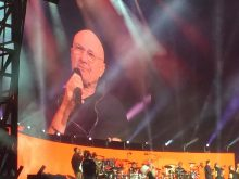 Phil Collins Not Dead Yet Melbourne photo Noise11.com