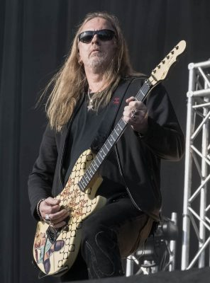 Jerry Cantrell of Alice In Chains at Download Melbourne 2019 photo by Mary Boukouvalas
