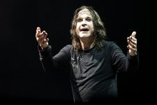 Ozzy Osbourne and Black Sabbath photo by Ros OGorman