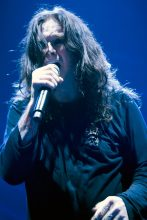 Ozzy Osbourne performs at Rod Laver Arena Melbourne 15th March 2008 photo by Mandy Hall