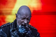 Rob Halford of Judas Priest at Download Melbourne 2019 photo by Mary Boukouvalas