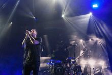 The Amity Affliction performed at Rod Laver Arena in Melbourne on Thursday 17 December 2015 as part of the Big Ass Tour photo by Zo Damage