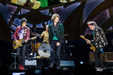 The Rolling Stones perform at Rod Laver Arena in Melbourne on 5 November 2014. (AAP Image/Noise 11/Ros O'Gorman) NO ARCHIVING, EDITORIAL USE ONLY