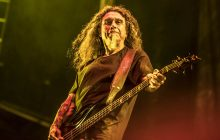 Tom Araya of Slayer at Download Melbourne 2019 photo by Mary Boukouvalas
