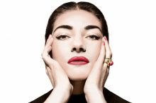 Maria Callas photo from Warner Classics