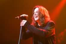 Ozzy Osbourne Black Sabbath photo by Ros O'Gorman