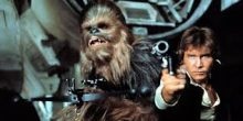 Chewbacca and Hans Solo