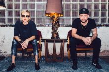 Phantogram photo by Charles Reagan Hackleman