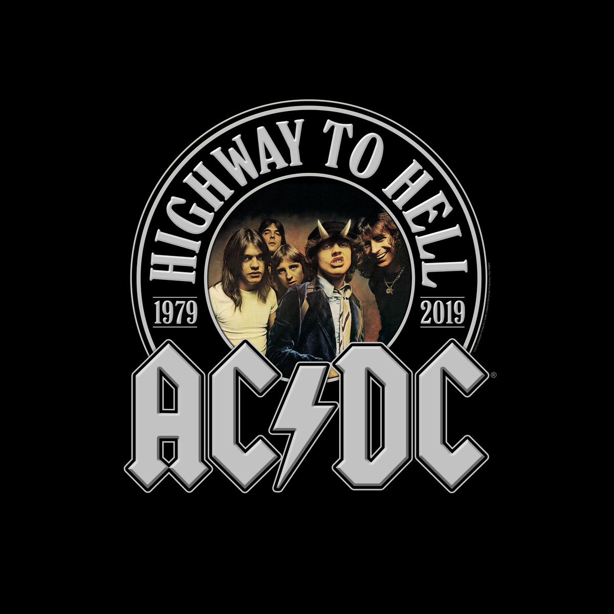 ac dc are celebrating the 40th anniversary edition of highway to hell. Black Bedroom Furniture Sets. Home Design Ideas