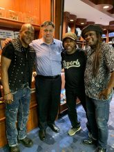 Joseph Wooten, Victor Wooten, Regi Wooten with Nick Kontonicolas of The Noise Network