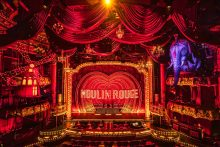 Moulin Rouge! Boston Set Shot, photo by Matthew Murphy