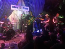 Victor Wooten and bass Joseph Wooten on keyboards at the Blue Note New York