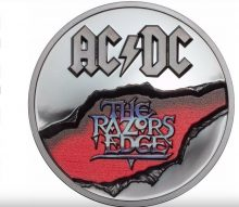 AC/DC The Razors Edge coin
