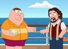 Peter Griffin and Alan Parsons Family Guy Season 18