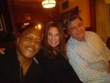 Joseph and Stephanie Wooten with Nick Kontonicolas