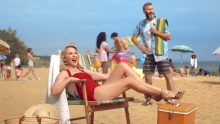 Kylie Minogue and Adam Hills Tourism Australia ad