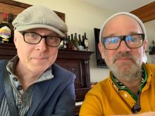 Bill Rieflin and Michael Stipe