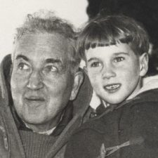 Robert Graves and son Tomas