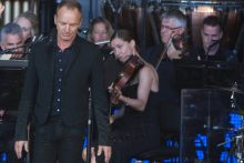 Sting at the Sidney Myer Music Bowl photo by Ros O'Gorman