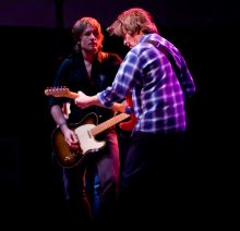 John Fogerty and Keith Urban photo by Ros O'Gorman