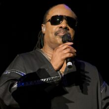 Stevie Wonder photo by Ros O'Gorman