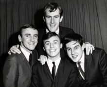 Gerry and the Pacemakers (Gerry Marsden centre)