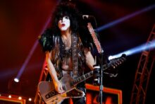 Paul Stanley of Kiss photo by Ros O'Gorman