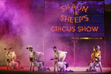 Shaun the Sheep's Circus Show photo by Prudence Upton