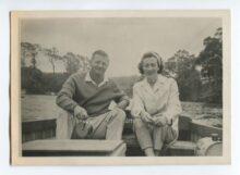 Slim Dusty and Joy McKean Gone Fishin photo supplied by EMI Records