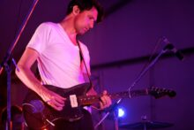Paul Dempsey of Something for Kate photo by Ros O'Gorman