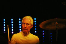 Charlie Watts of the Rolling Stones photo by Ros O'Gorman