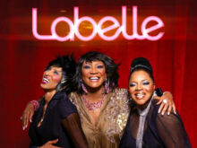 Labelle with Sarah Dash right