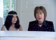 John Lennon and Yoko Ono (supplied)