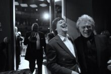 Marty Stuart and Ken Burns photo by Adam Lammers