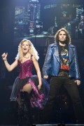 Amy Lehpamer (Sherrie) and Justin Burford (Drew), Rock Of Ages - Photo By Ros O'Gorman