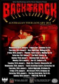 Backtrack Australian Tour 2012