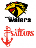 Western Walers and Sydney Sailors emblems