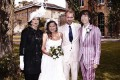 Jade Jagger and husband Adrian Fillary with dad Mick Jagger and mother Bianca noise11.com photos image
