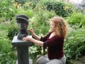 John Lennon sculpture by Kirsten Zuk