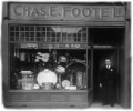 Chas Foote outside Foote's Music Store