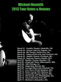 Nesmith 2013 tour
