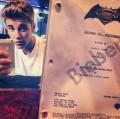 Justin Bieber Superman v Batman selfie, Noise11, photo