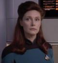 Wendy Hughes in Star Trek