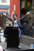 Charley Drayton opening Amphlett Lane, Melbourne photo by Ros O'Gorman