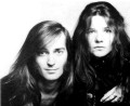 Sam Andrew and Janis Joplin