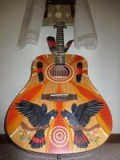 Spirit Bird guitar raffle