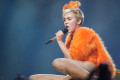 Miley Cyrus, Rod Laver Arena photo by Ros OGorman