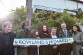 Rowland S Howard Lane Opening Ceremony St Kilda. Photo by Ros O'Gorman