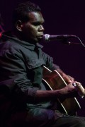 Gurrumul performed as part of the Supersense Festival at Hamer Hall in Melbourne on Saturday 8 August 2015.